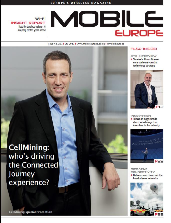 CellMining shares its vision in an interview with Mobile Europe Magazine