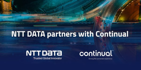 NTT DATA and Continual partner to deliver mobility experience solutions in Europe